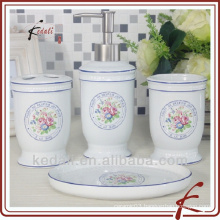 ceramic bathroom set of 4 pcs